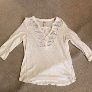 Anthropologie Sparkly Tee